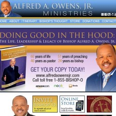 Bishop Alfred A. Owens, Jr. Ministries Website