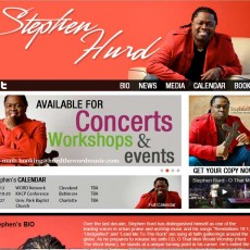 Stephen Hurd Website